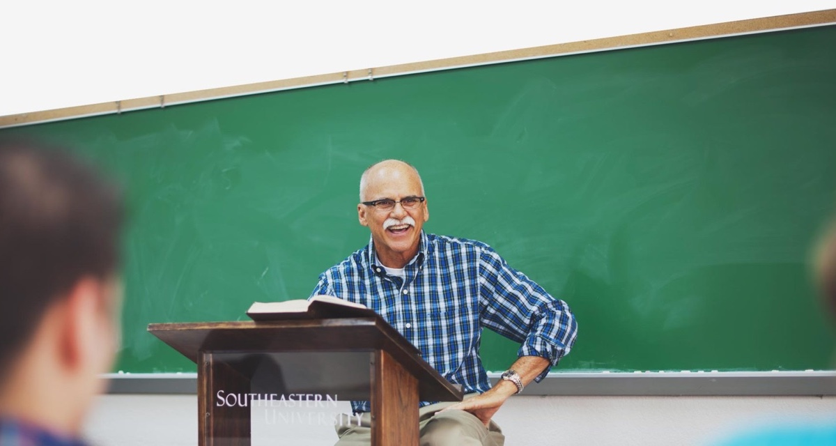A professor at Southeastern University teaching